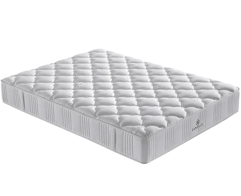 Fansace 21PA-01 Hotel Pocket Coil Queen Mattress With Full Size