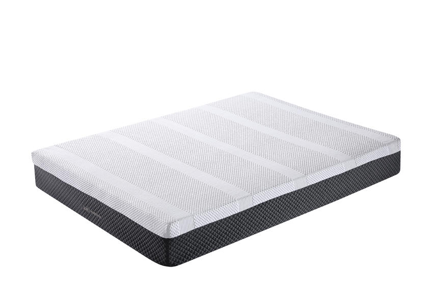 00FK-14 Classic Brands Cool Gel Memory Foam And Innerspring Hybrid 12 Custom Mattress
