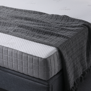 10FK-06 | Classic Brands 7 Inch High Density Foam Mattress - Medium Feel - Bed in a Box - 10-Year Warranty