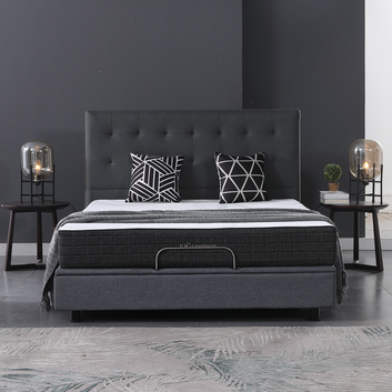 10FK-07 | Comfortable Sleep 8-Inch High Density Foam Mattress, Medium-Firm, Available In Multiple Sizes Feel, Bed in a Box