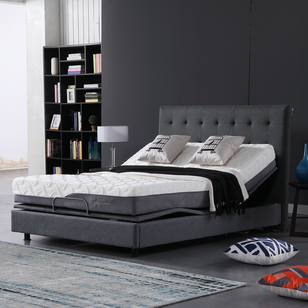 10FK-08 JLH Furniture 8 Inch High-Density Memory Foam Natural Mattress