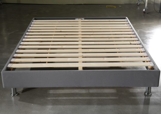CJ-56 Easy Assembly Strong Wood Slat Support Memory Foam Bed