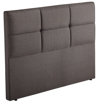 MB3301 | JLH Classic Upholstered Headboard, Grey, Full Size