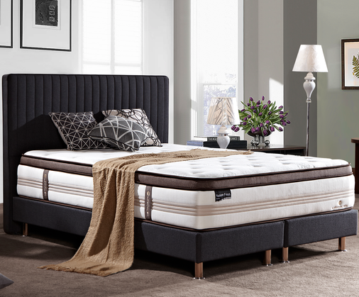 MB9907 OEM Solid Wood Hotel Quality Beds Headboard For Home Bed