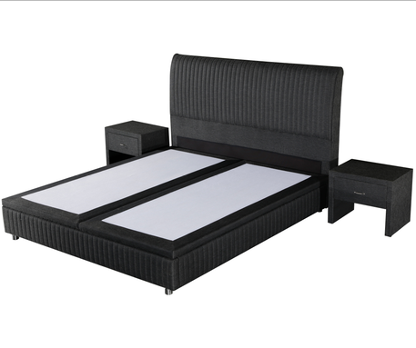 Top high bed frame full factory delivered easily-1
