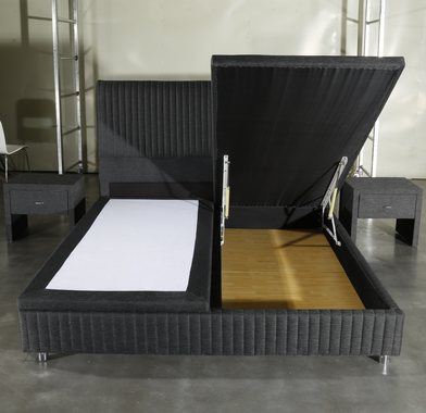 Top high bed frame full factory delivered easily-3