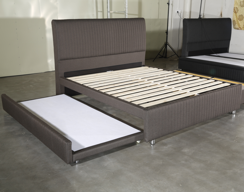 MB3371 | New Design Storage Function Bed Frame With Headboard