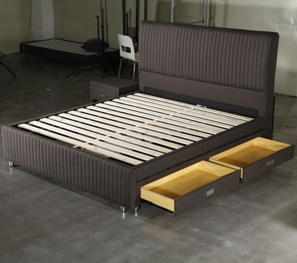 MB3371 New Design Storage Function Mattress Firm Adjustable Beds Frame With Headboard