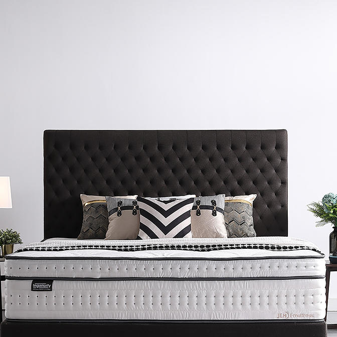 34PD-1114 Inch 5 Zone Luxury Design Latex With Pocket Quality Mattress