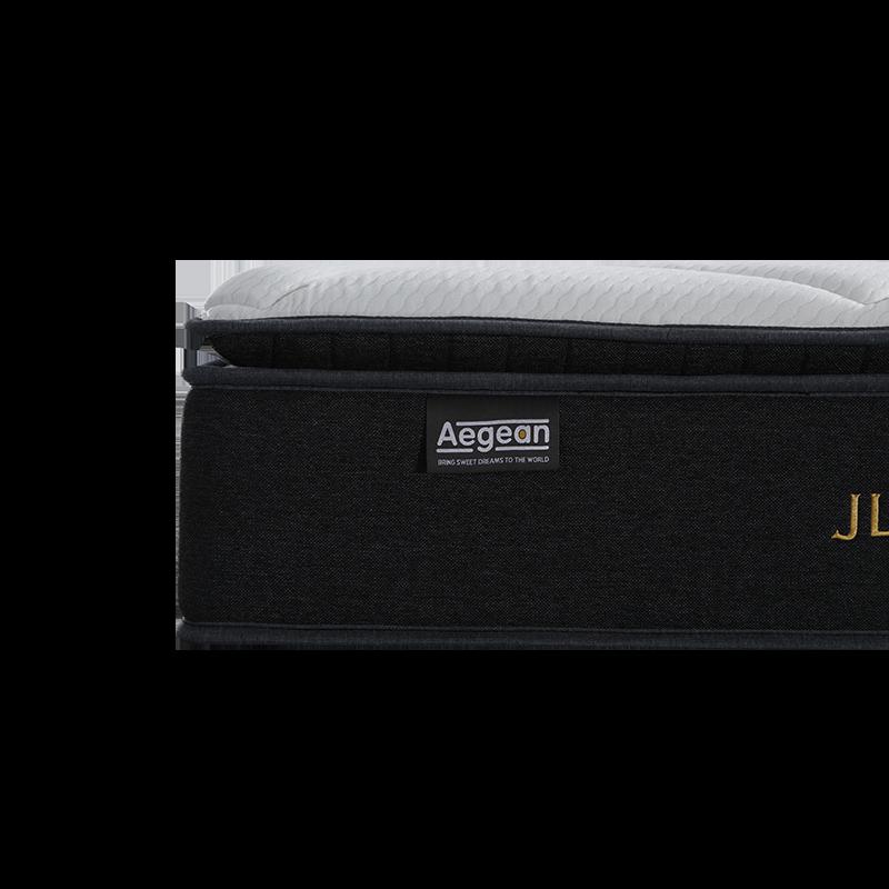 32PA-48 Aegean 13-Inch Gel Memory Foam High Rebound Thin Mattress Topper