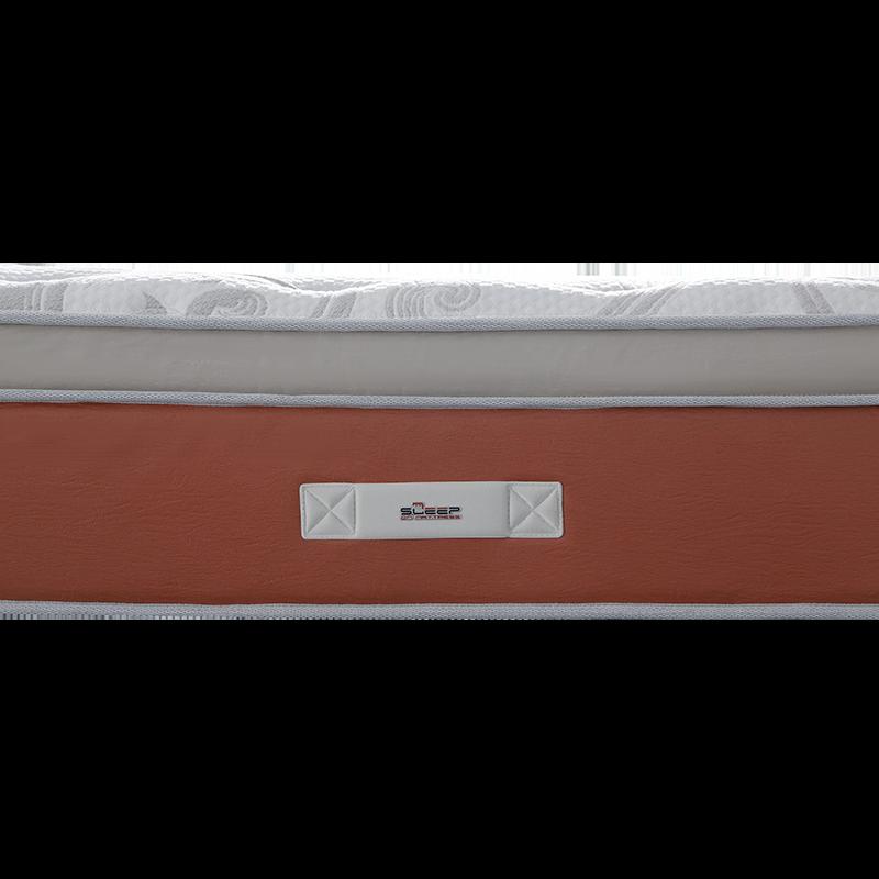 34PA-91|Aegean 13 Inch Latex Like Foam MattressWave Pocket Memory Mattress