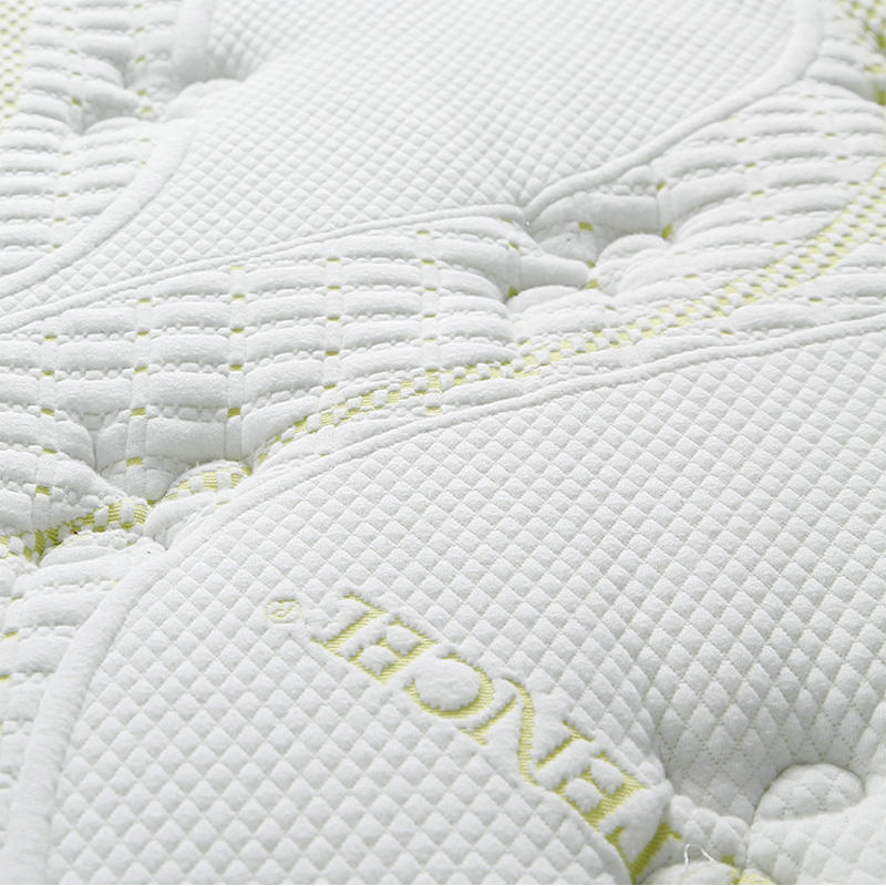 34PA-89 Natural Fresh Euro Top Convoluted Foam Compressed Pocket Spring Queen Mattress