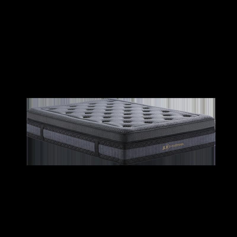 47AA-19 Deluxe Double Pocket Spring Box Hypoallergenic Mattress