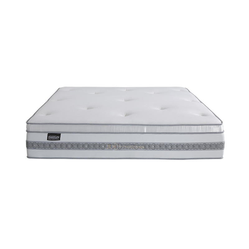 34PD-12 | INGENUITY 14 Inch Pure Luxury Double Layer Pocket Spring Natural Latex Mattress