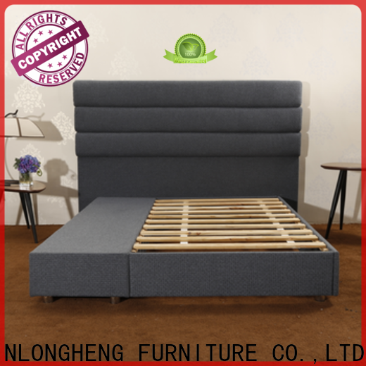 JLH queen bed stand Suppliers with elasticity