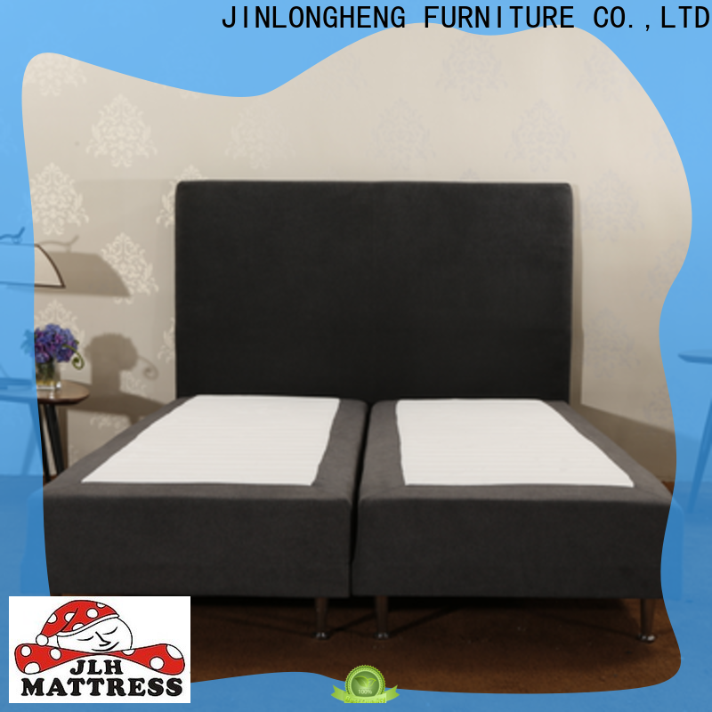 JLH Latest upholstered bed headboard company with softness