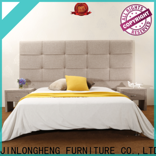 JLH fabric bed frame queen manufacturers for guesthouse