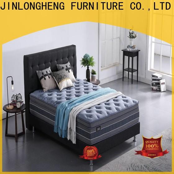 JLH high class innerspring twin mattress with Quiet Stable Motor for guesthouse