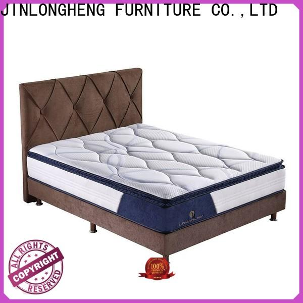 JLH comfortable mattress factory outlet High Class Fabric for guesthouse