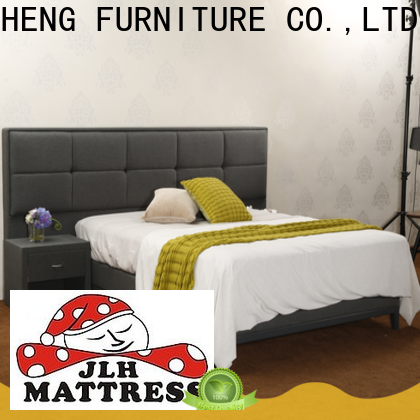 JLH High-quality tall headboard bed frame for business with softness