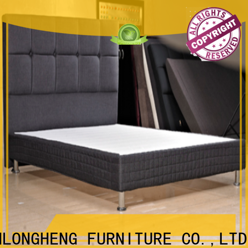 Custom leather bed for business
