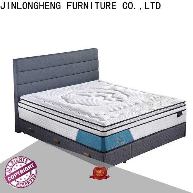 JLH top best mattress and box spring High Class Fabric for guesthouse