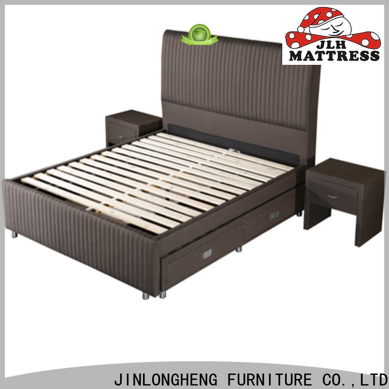 JLH high king bed frame company for guesthouse