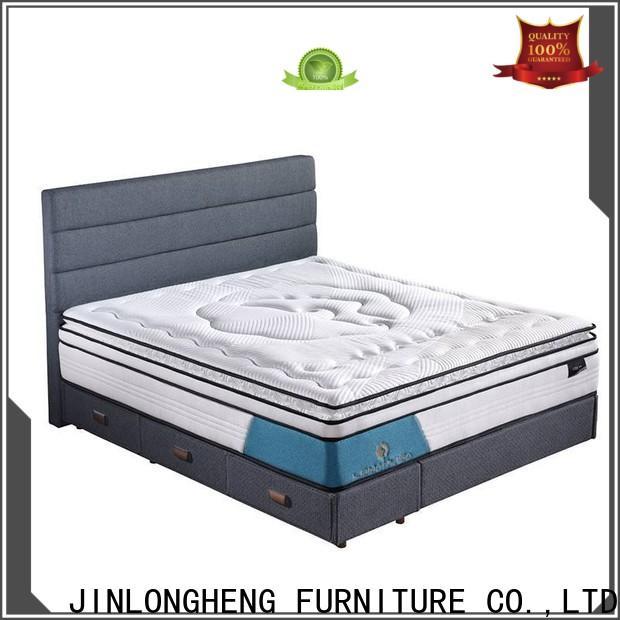 JLH high class queen mattress box China Factory with softness