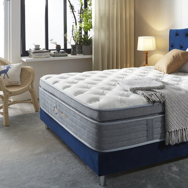 product-JLH-33PA-24 TIME CAPSULE Factory Wholesale Soft Design Gel Memory Foam Spring Mattress-img