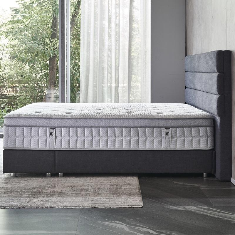 34PA-93 TIME CAPSULE High Quality Ice Silk Fabric Pocket Spring Mattress For Adult