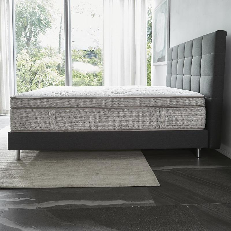 34PD-12 TIME CAPSULE Luxury Design With 100% Hand Tufted Design Hand Made Pocket Spring Mattress