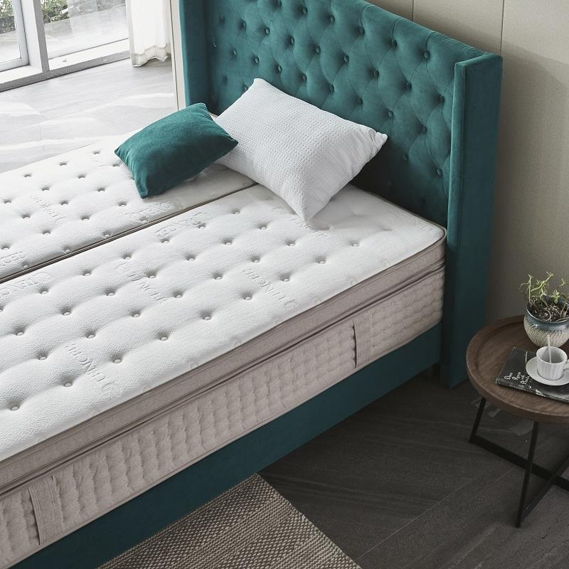 48PA-02 TIME CAPSULE Hot Sale Different Hardness Feeling Spring Mattress For Couple