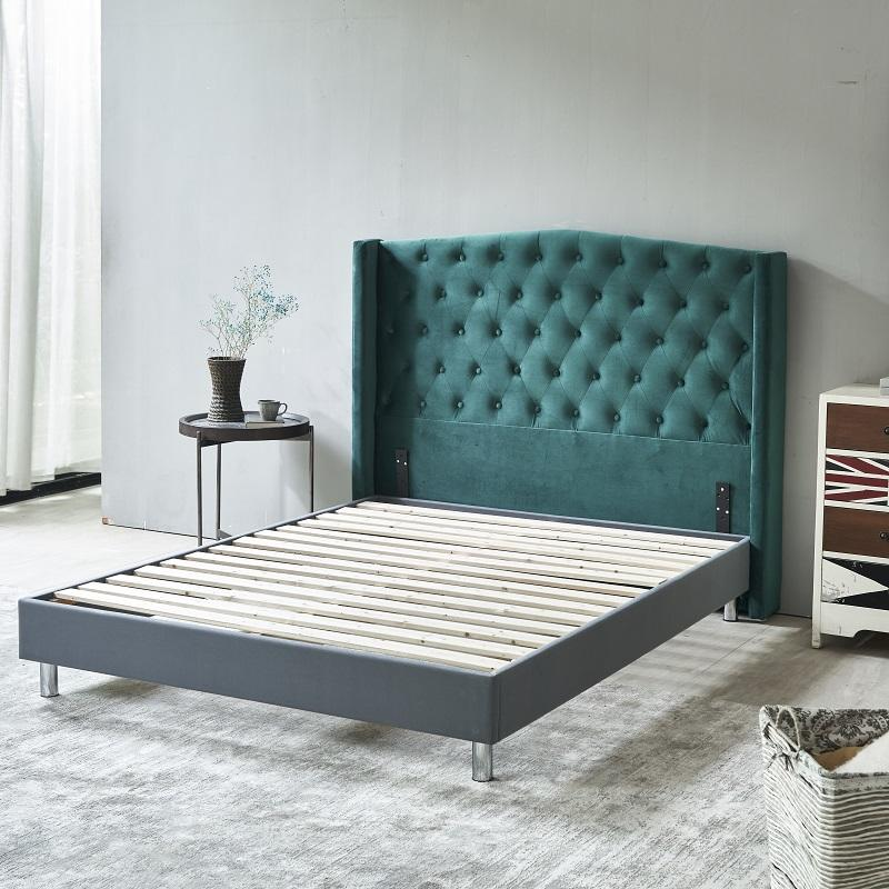 MB3505 TIME CAPSULE Latest Popular Solid Pine Wood Upholstered Headboard