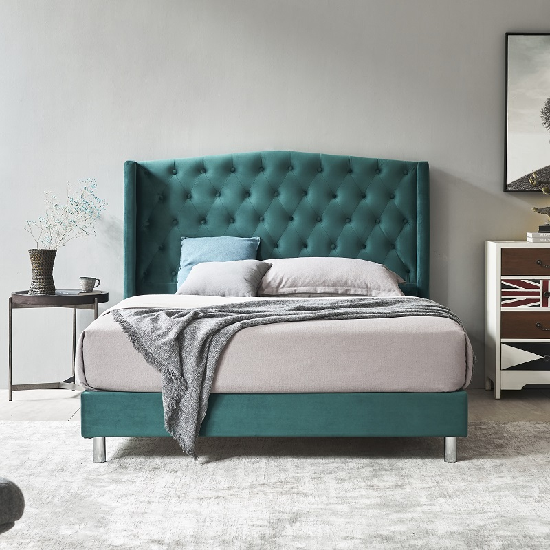 product-MB3505 TIME CAPSULE Latest Popular Solid Pine Wood Upholstered Headboard-JLH-img