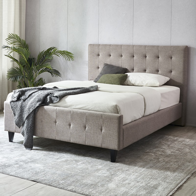 product-JLH-MB3363 TIME CAPSULE High Quality Fashionable Home Bed Frame With Headboard-img