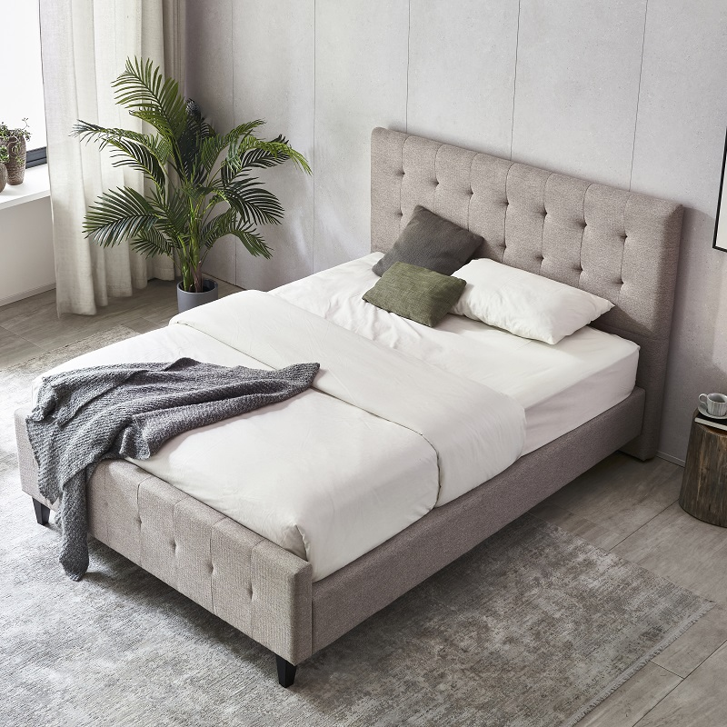 product-MB3363 TIME CAPSULE High Quality Fashionable Home Bed Frame With Headboard-JLH-img-1