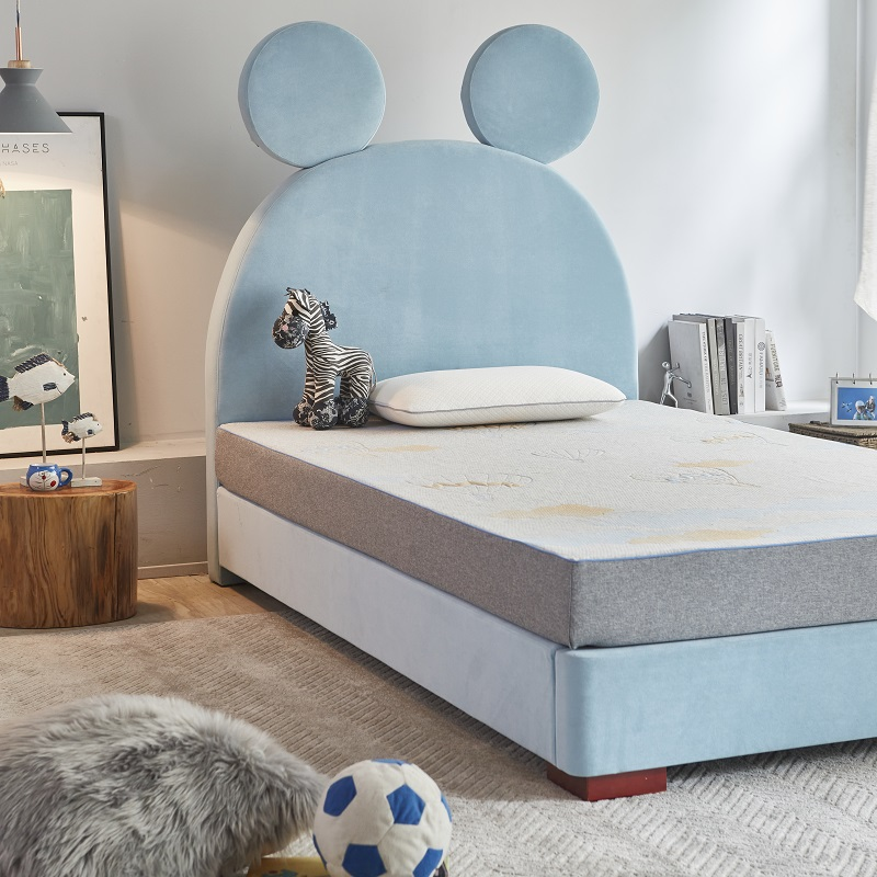 product-MB2833 TIME CAPSULE Lovely Kid Bedroom Furniture Bed Frame With Headboard-JLH-img