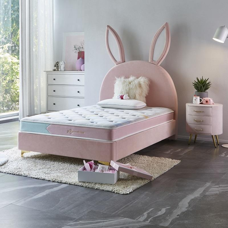 MB2835 TIME CAPSULE Lovely Upholstered Bed Frame With Headboard For Children