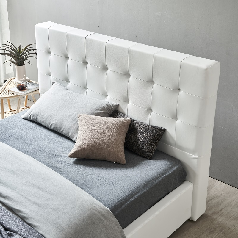 product-MB3332 TIME CAPSULE Modern Upholstered Storage Leather Bed Frame With Headboard-JLH-img-1