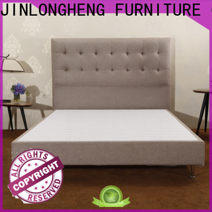 JLH High-quality simple metal bed frame Supply delivered easily
