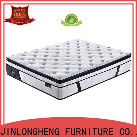 JLH breathable memory foam mattress foundation with Quiet Stable Motor for hotel