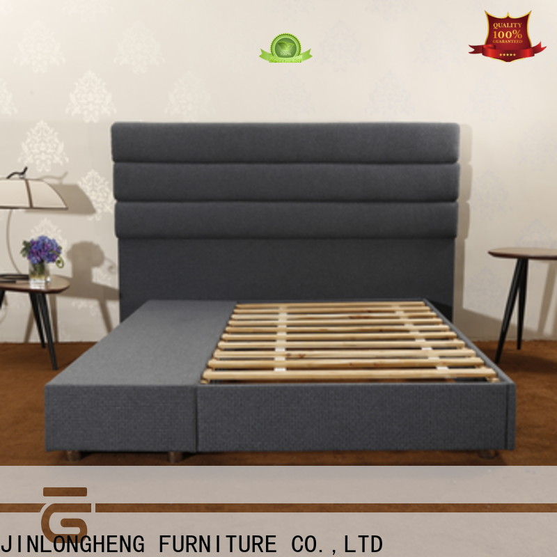JLH high king bed frame factory with softness