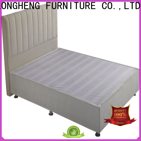 Best upholstered bed with mattress factory for hotel