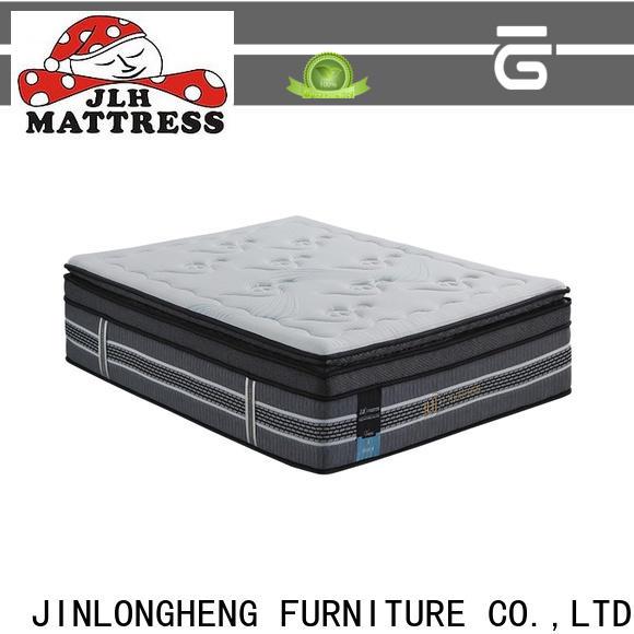 JLH bed frames with matress marketing for bedroom
