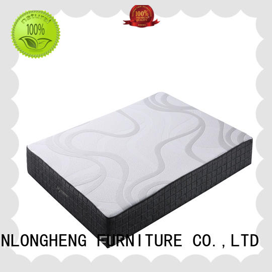 10FK-07   Comfortable Sleep 8-Inch High Density Foam Mattress, Medium-Firm, Available In Multiple Sizes Feel, Bed in a Box