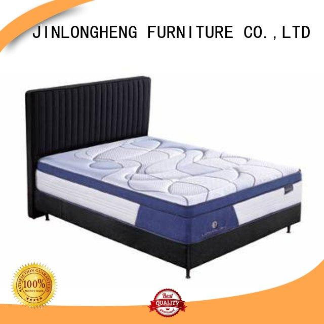 turfted natural pocket latex gel memory foam mattress JLH Brand company