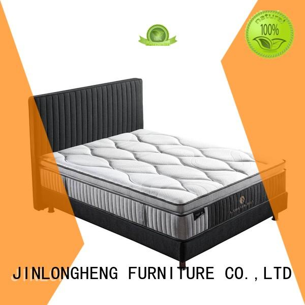 spring top latex gel memory foam mattress latex mattress JLH company