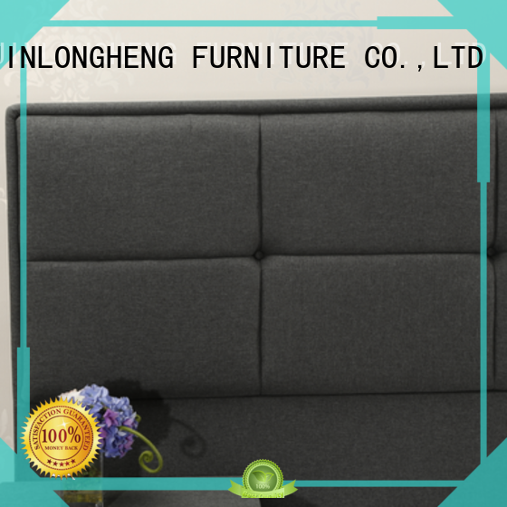 Custom tall upholstered headboard factory delivered easily