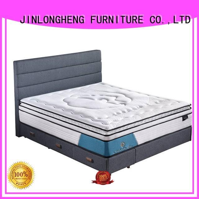 spring design pocket cool gel memory foam mattress topper JLH manufacture