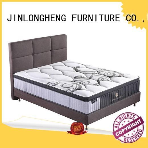 cool gel memory foam mattress topper spring foam euro JLH Brand compress memory foam mattress